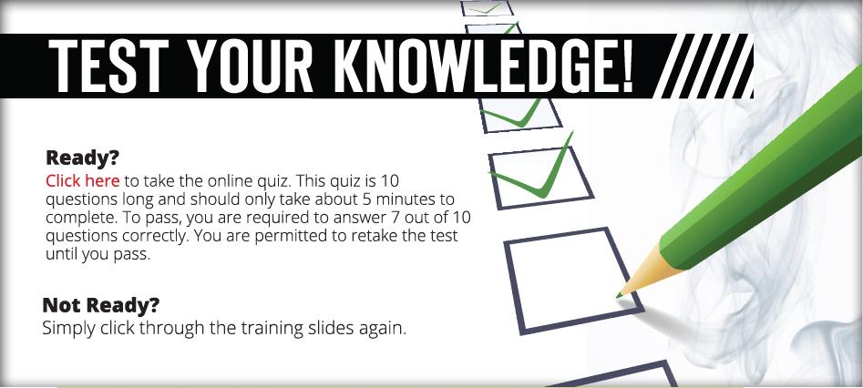 online quizz